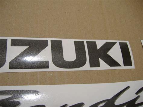 Suzuki Bandit Aufkleber by Suzuki Bandit Gsf 1200s K1 Decals Set Kit Silver