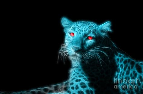 blue panther photograph by image world