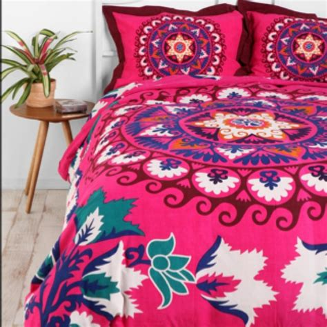 mexican embroidered bedding 17 best images about hot pink duvet cover on pinterest