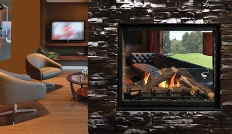 See Through Fireplace Insert by Gas Fireplaces Harding The Fireplace