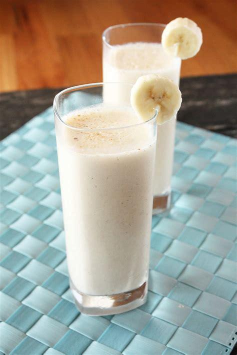 Panda Shake Bananza Shake spiked caramelized banana milkshake cake n knife