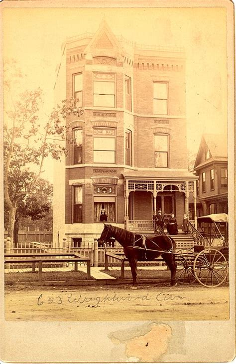 from lincoln to chicago file 655 wrightwood avenue circa 1880 lincoln park