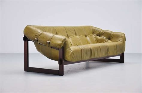 percival lafer sofa percival lafer lounge sofa in rosewood 1960 at 1stdibs