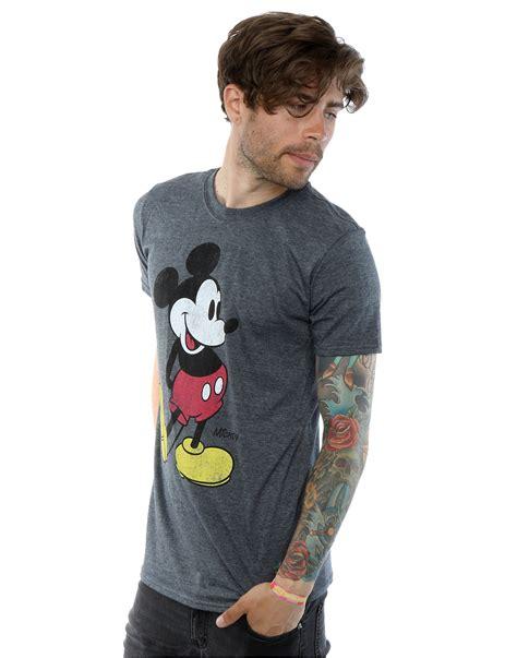 disney wallpaper t shirt disney men s mickey mouse classic kick t shirt ebay