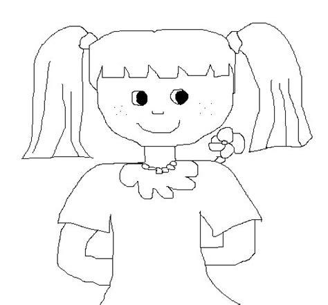 imagenes para pintar muñecas dibujo de mu 241 eca 2 para colorear dibujos net
