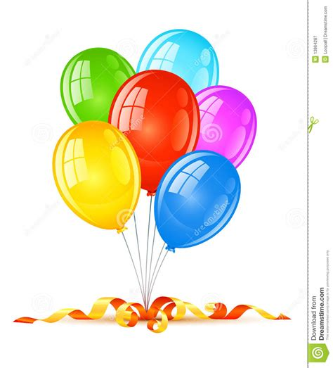 imagenes de cumpleaños con globos globos coloreados para la celebraci 243 n del d 237 a de fiesta