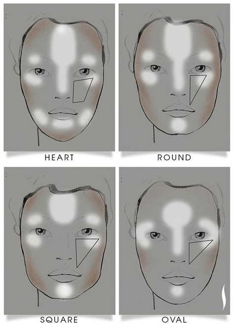 contour light sculpting before and after 52 best highlight and contour before and after images on
