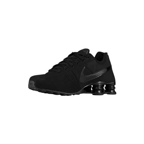 black on black nike running shoes nike shox deliver