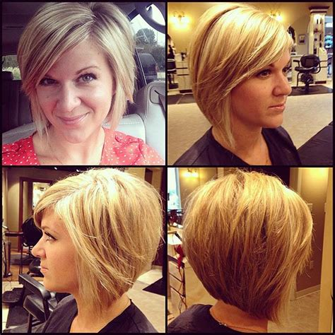 layered inverted bobs for thick hair 21 cute layered bob hairstyles popular haircuts