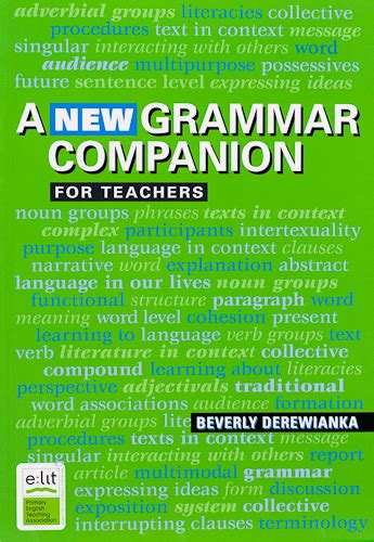 a new reference grammar 0340810335 a new grammar companion harleys the educational super store