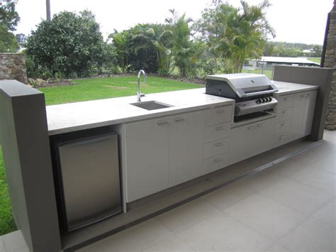 outdoor bbq kitchen cabinets cabinet makers gold coast a r cabinets 171 custom design