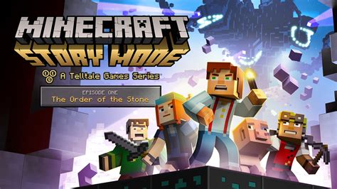 minecraft story mode minecraft story mode episode 1 the order of the stone trailer youtube