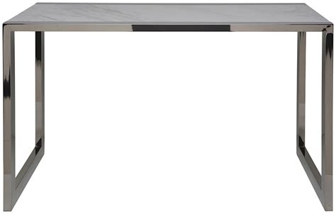 jet console desk white marble large modern digs furniture