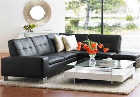 living room leather black with cuhsion sofa and loveseat best colour cushions for black leather sofa
