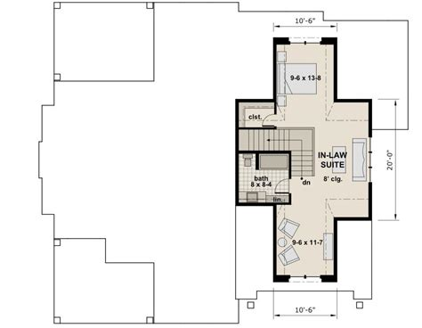bungalow house plans with inlaw suite apartments bungalow house plans with inlaw suite ranch house luxamcc