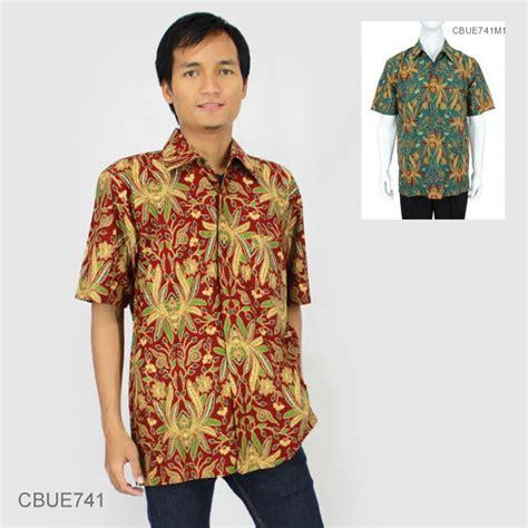 Kemeja Batik Baturaden M kemeja batik baturaden katun primis motif jokowi warna