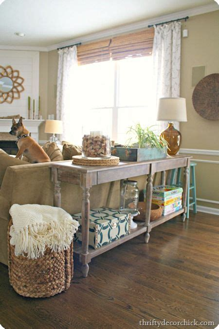 decorating sofa table 25 best ideas about sofa table styling on pinterest