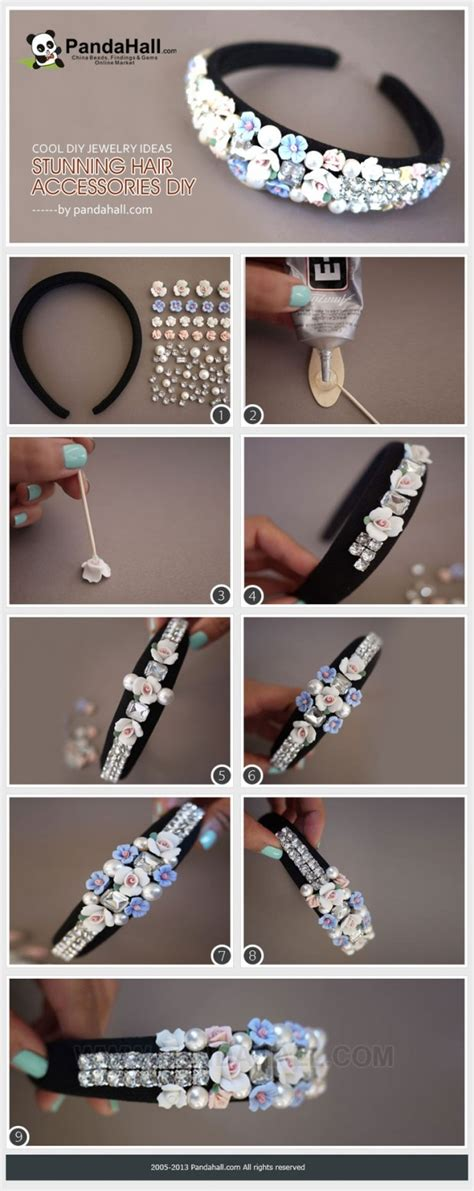 25 stylish diy hair accessories style motivation