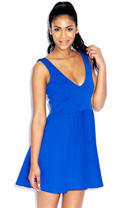 Wst 14865 Cross Hem Knit Sweater boohoo v neck fit and flare mini dress ebay