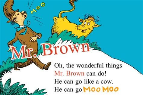 mr brown can moo happy birthday dr seuss and our top ten favorite seuss books houston press