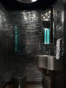 Black And White Bathroom Ideas Pictures black bathroom home design photos