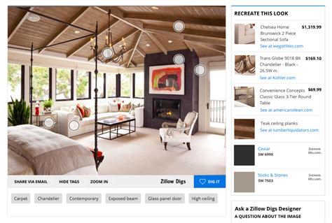 zillow digs home design re create home design looks with zillow digs product tags zillow blog