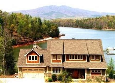 Houses For Rent Mountain Nc by Waterfront Home Lake Blue Ridge Mountains