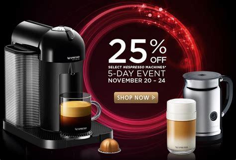 Nespresso Sale: When are Nespresso machines on sale?