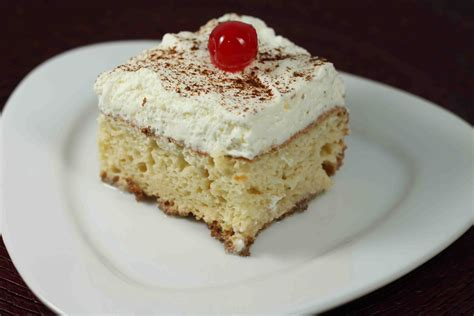 tres leches cake recipe dishmaps