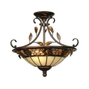 dale ceiling lights dale th90218 2 light pebblestone semi flush