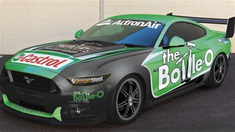 ford mustang supercar ford mustang australian v8 supercars maybe