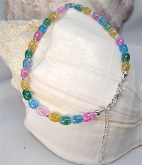 Handmade Beaded Anklets - beaded and anklets le creations handmade anklets