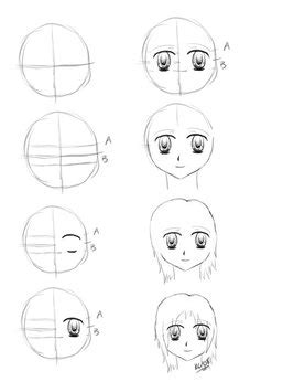 how to start a doodle faces amazing anime