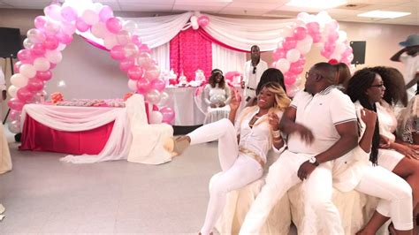 White Baby Shower Ideas by Shantea S All White Baby Shower
