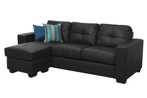 black leather l couch l shaped leather couch decofurnish