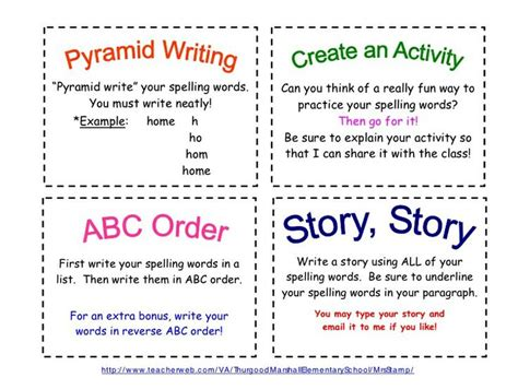 Spell Cards Word Template by 1000 Images About Spelling On