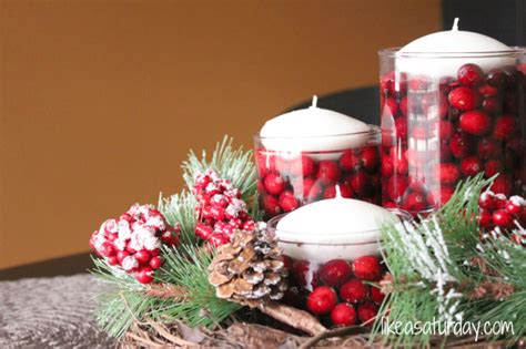 christmas countdown day 15 christmas centerpieces b