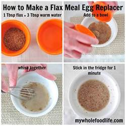 how to make a flax egg my whole food life