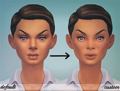 sims 4 kawaii skins baby face skin detail sims 4 updates sims 4 finds