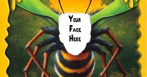 Ebook Goosebumps Why I M Afraid Of Bees Bonus Versi Indonesia what would you look like as a bee paste your picture into