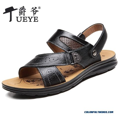 s cheap sandals cheap s leather layer of leather sandals summer