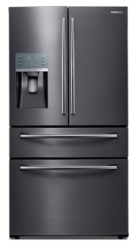 black samsung door refrigerator samsung black stainless steel door refrigerator 28