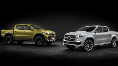 mercedes pickup 2017 mercedes benz x class pickup truck 8k wallpaper hd