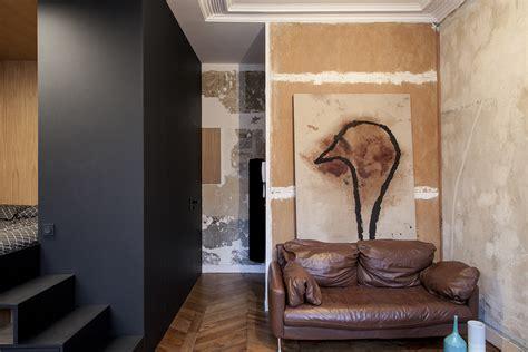 good Small Space Interior Design #4: Batiik-Refurbished-Small-Paris-Studio-Apartment_5.jpg