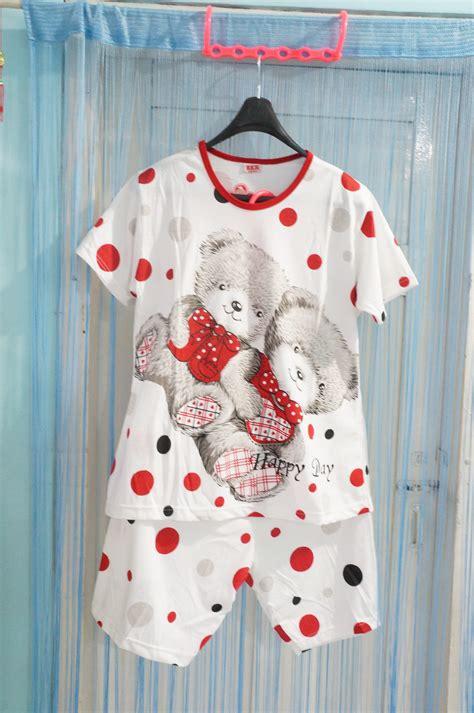 baju tidur wanita 3 ncy beibii collection