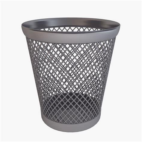 waste paper basket 3d model 3d model waste paper basket