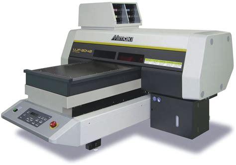 mimaki ujf 3042 new compact desktop led uv printer sign