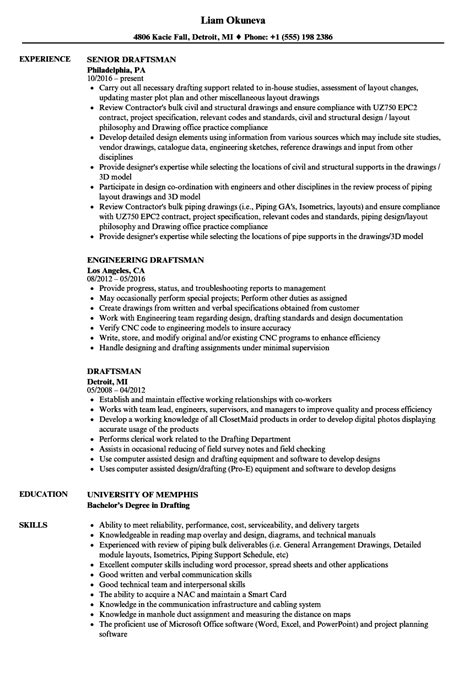 architectural draughtsman cv sle impressivechitectural draftsman resume sles unique drafter sle for draughtsman mep of