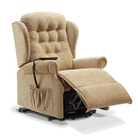 reclinable chair lynton rise and recline recliner chair petite at smiths