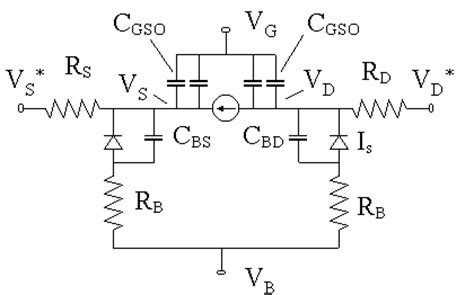 floating gate transistor spice model mosfet spice model